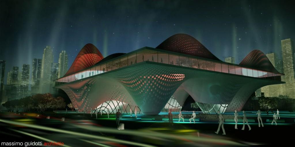 Progetto centro residenziale e business