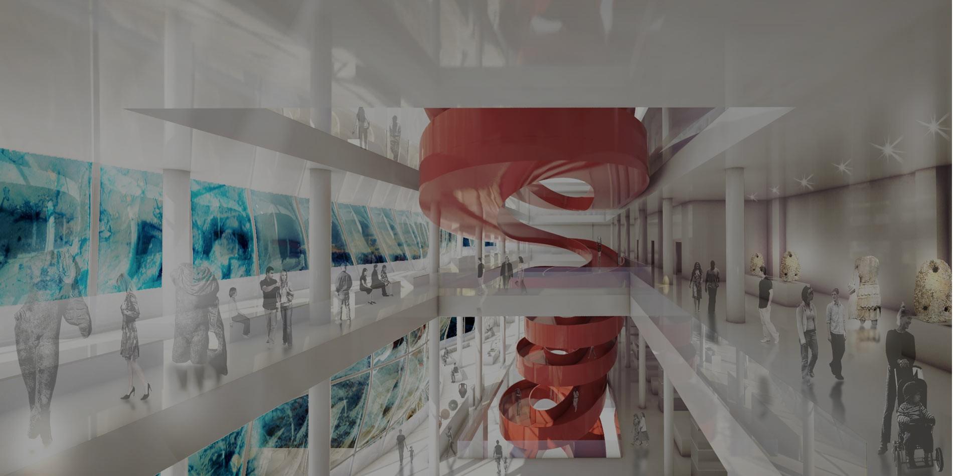 Progettazione spazi per la cultura atene massimo - Progettazione spazi interni ...
