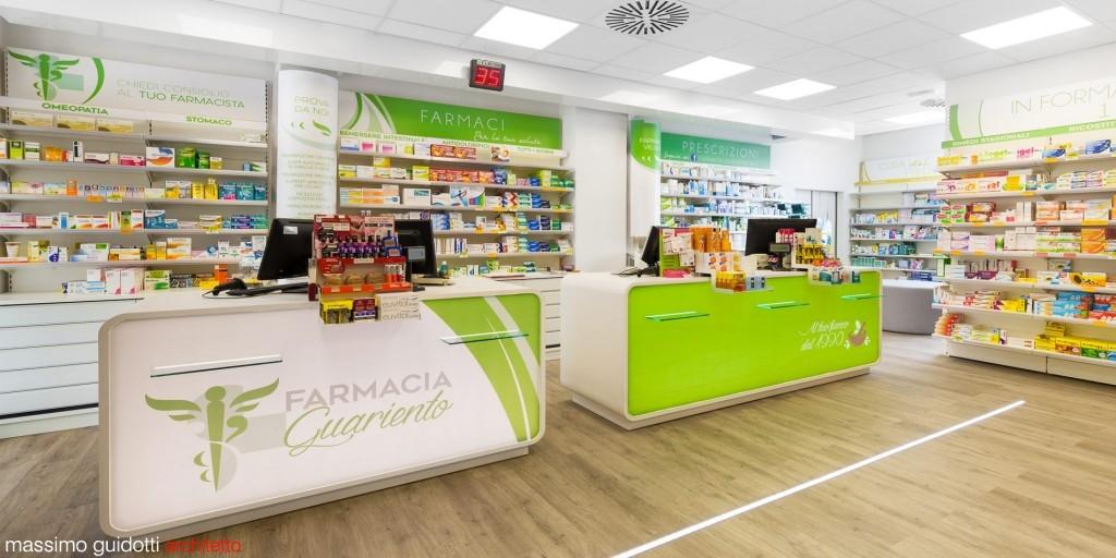 Ristrutturazione farmacia loiano bologna