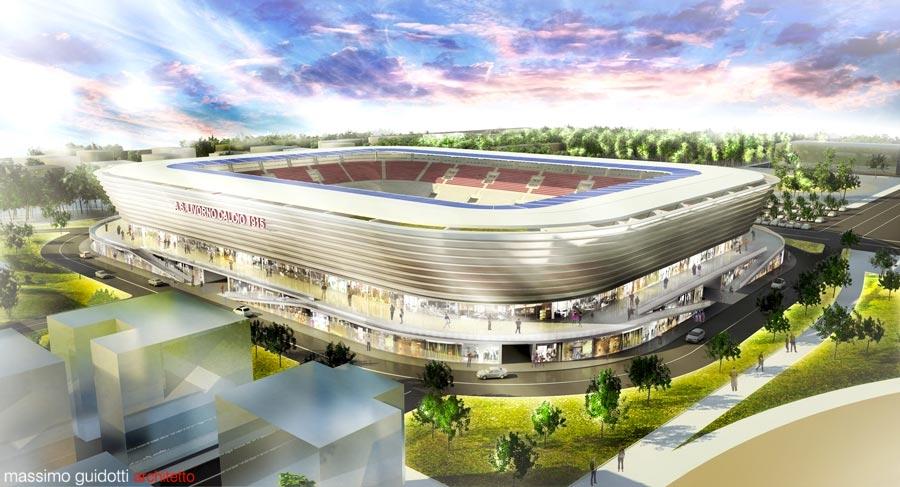 Progettazione impianti sportivi - Stadio Livorno