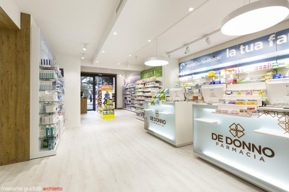 Ristrutturare farmacia lecce