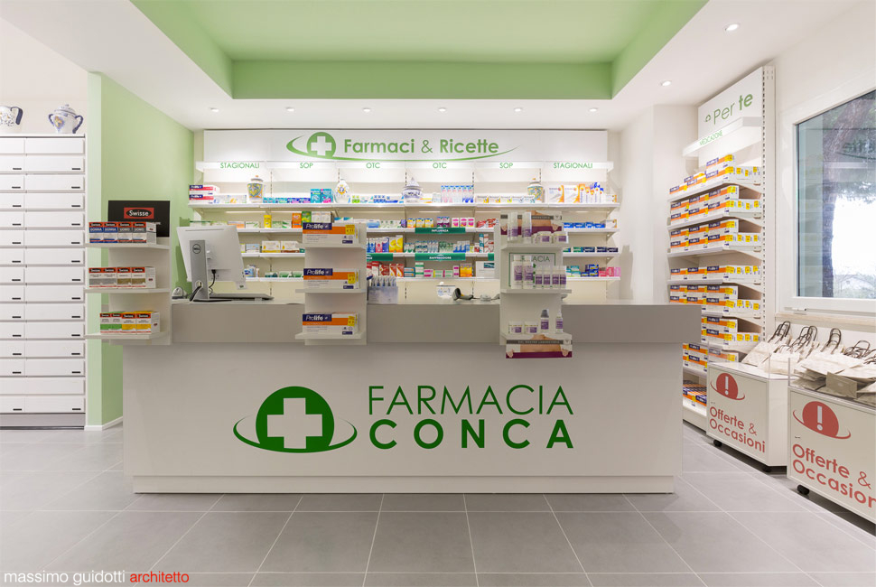 progettazione farmacia cattolica rimini